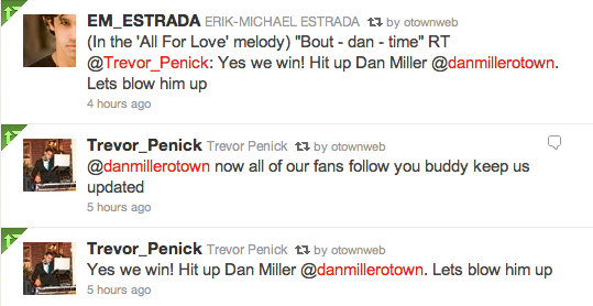 Erik and Trevor about Dan joining Twitter