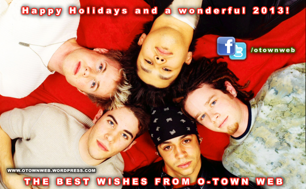 HAPPY HOLIDAYS AND A WONDERFUL 2013!